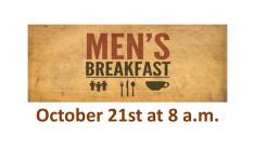 Men's Breakfast October 2018