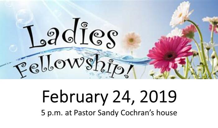 Ladies Fellowship