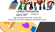 Ladies Fellowship April 2019